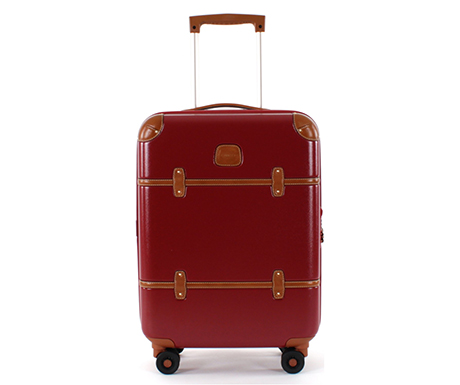 Brics Bellagio carry-on in red