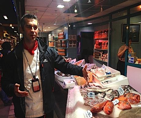 Chef Jevgeni tour of Les Halles Lyon