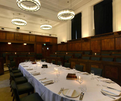 The Council Chamber at The Town Hall, Bethnal Green