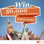 Win 50,000 IHG� Rewards Club Points!