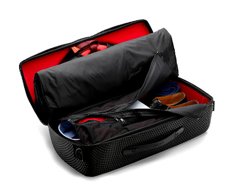 Latitude 56 red eye carry-on bag