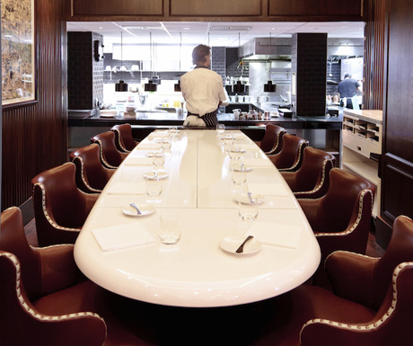 The Chef�s Table at Marcus, Knightsbridge