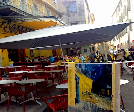 Site of Van Gogh Yellow Cafe