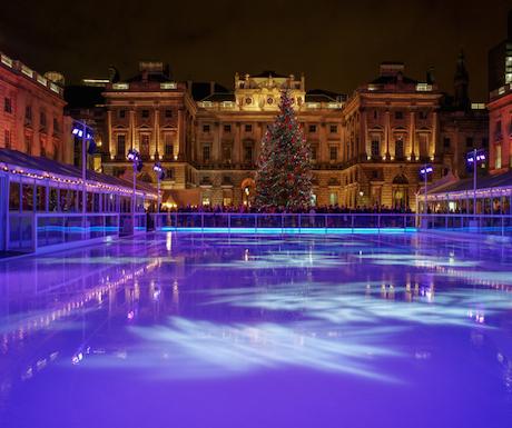 Somerset House London Ice Skating Rink