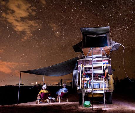 Stargazing at the Tatacoa Desert, Colombia