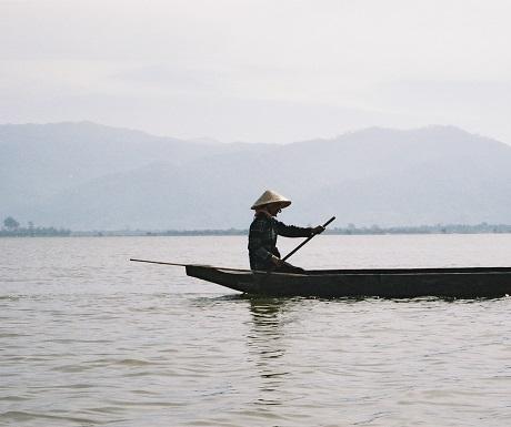 Vietnamese lake view