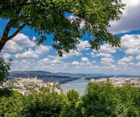 Buda Hills view