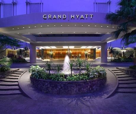 Grand Hyatt Sing exterior