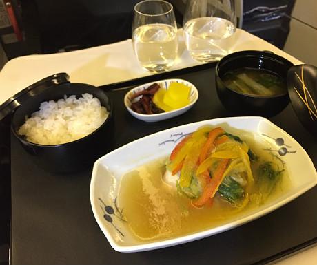 ANA Japanese food
