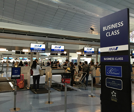 ANA check-in