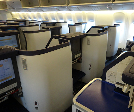 ANA seats from behind