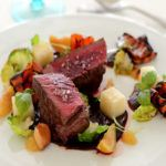 Recipe of the week: Beef fillet with chocolate, port, fig and Brussels sprouts