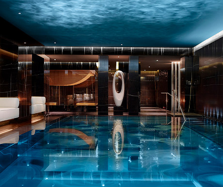 Corinthia London pool