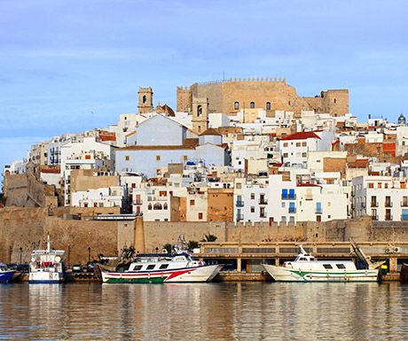 Castellon views from the sea