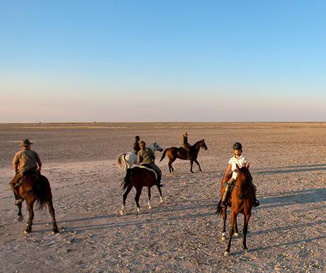 Riding safari, Botswana