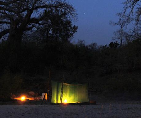 Selous fy camping