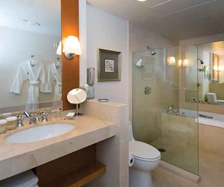 Bathroom at Taj Campton Place