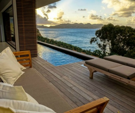 BelAmour viila with sunset view