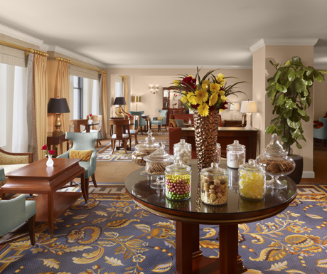 Club Lounge, Ritz-Carlton San Francisco