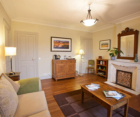 Deluxe Suite, La Villa de Mazamet lounge