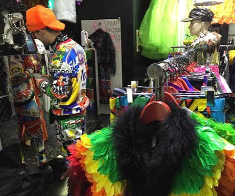 Lady Gaga shop in Tokyo