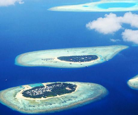 Maldives atolls