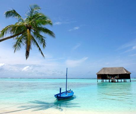 Maldives classic view