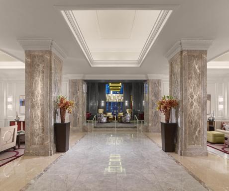 Lobby arrival, Ritz-Carlton San Francisco