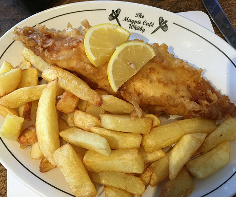 Magpie Cafe fish and chips