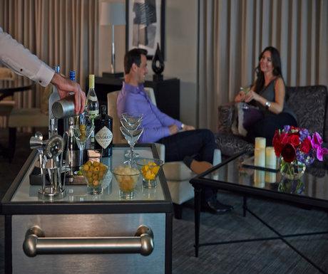 Martini Man Four Seasons Hotel Chicago