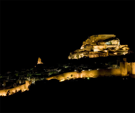 Morella at night - Castellon