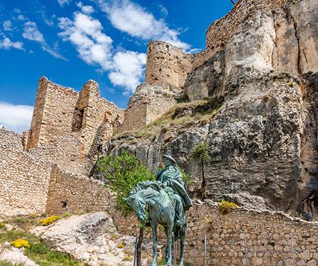 Morella castle views