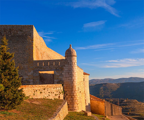 Morella fort views