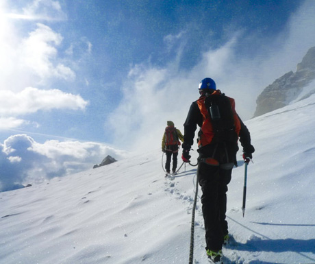 Mountaineering off the beaten track in the Ecrins