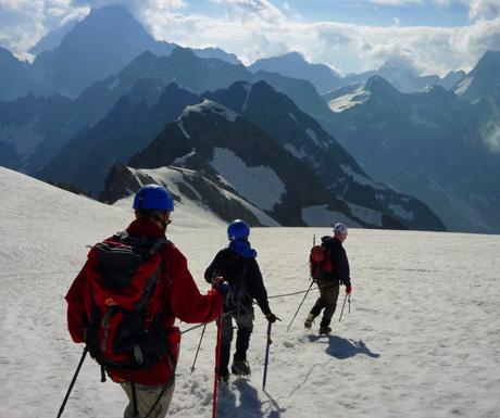 Mountaineering off the beaten track