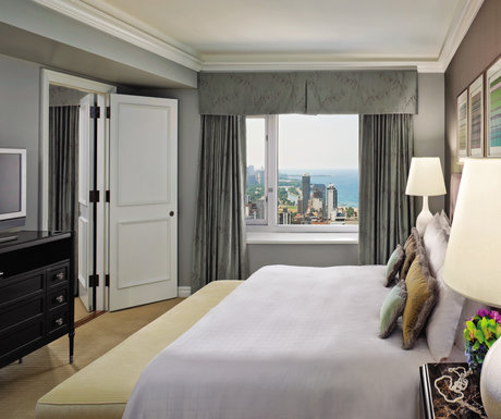 One bedroom suite at the Four Seasons Hotel Chicago