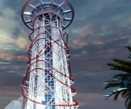 Orlando Skyscraper roller coaster