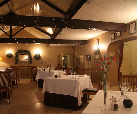 Ox Pasture Hall dining room