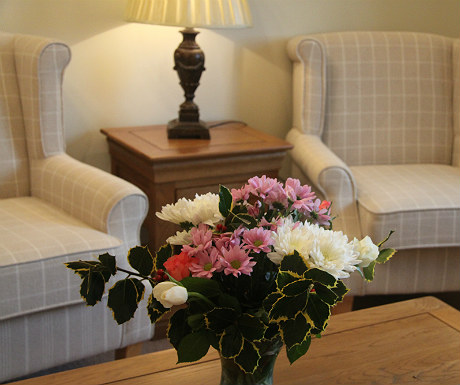 Ox Pasture Hall fresh flowers