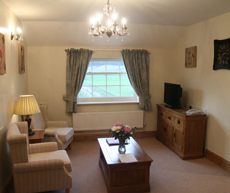 Ox Pasture Hall living space