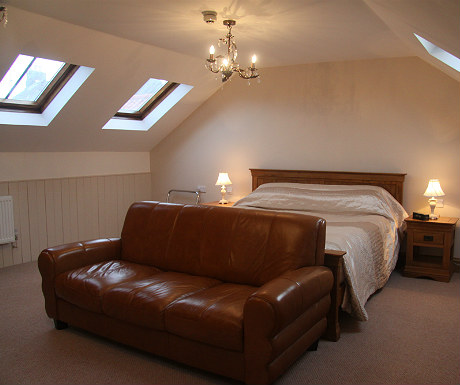 Ox Pasture Hall master bedroom