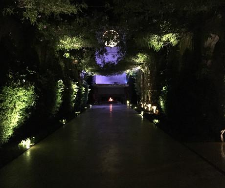 Palais Namaskar entrance walkway