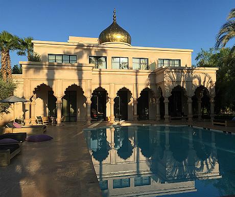 Palais Namaskar palace accommodation