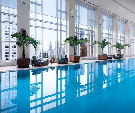 Pool at the Chicago Peninsula Hotel