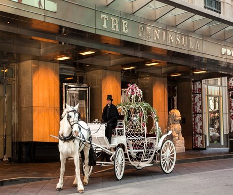 Princess for a day at the Chicago Peninsula Hotel