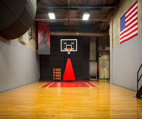 Ritz-Carlton Chicago basketball