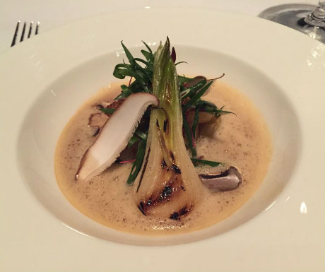 Sauteed French fois gras