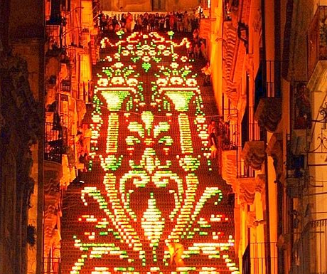 Scala Illuminata, Caltagirone