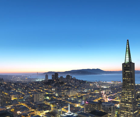 View from Mandarin Oriental San Francisco