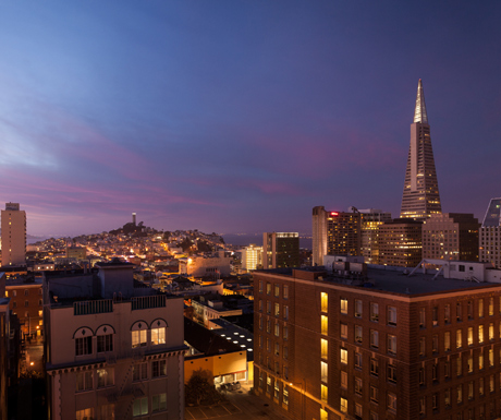 View from The Ritz-Carlton San Francisco